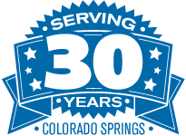30 Years of Service in Colorado Springs